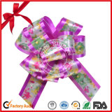 Floral Style POM-POM Pull Bow by Manufacturer
