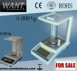 0.0001g Electromagnetic Automatically Internal Calibration Laboratory Balance with Glass Windshield