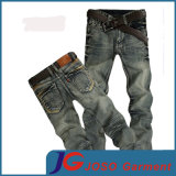 Retro Straight Slim Distressed Jeans for Young Men (JC3402)