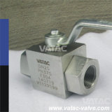 Forged Steel High Pressure Hydraulic Pressure Ball Valve for Oil