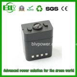 Long Life Portable Power Tool Battery Military Customized Capacity Rechargeable 12V 4000mAh