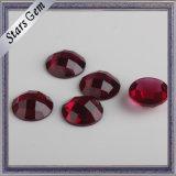 Beautiful Deep Blood Red Crystal Glass Gemstone