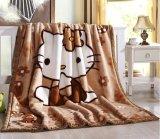 Cartoon Pattern Soft Warm Raschel Acrylic Mink Blanket for Children
