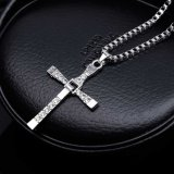 Hard Gas Actor Dominic Toretto Cross Necklace