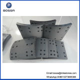 Auto Parts Brake Pads with 220mm Oil System 38 Holes Brake Shoe for Nissan Heavy Duty Truck
