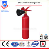 2kg CO2 Fire Extinguisher with Big Horn