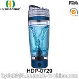 600ml Portable Plastic Vortex Protein Bottle, BPA Free Plastic Electric Shaker Bottle (HDP-0729)