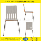 Stainless Steel Dining Chair Plywood  Chair for Restaurant