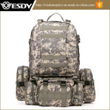 Outdoor Tactical Sport Backpack, Military Combat Bag Acu