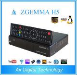 2016 Linux Zgemma H5 Hevc/H. 265 Combo Tuner Satellite Receiver Core TV Box
