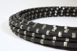 D11.5mm Diamond Rubber Wire Saw for Granite Stone Quarrying