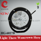 27W Round LED Work Lamp off Road High Power ATV Jeep Trailer Fishing Boat Tractor