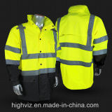 High Visibility Rainwear with ANSI107 (RW-002)