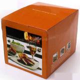 Manufacturer Orange Custom Print Product Packaging Box