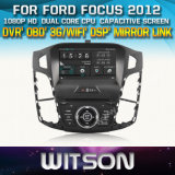 Witson Car DVD for Ford Focus 2012 Car DVD GPS 1080P DSP Capactive Screen WiFi 3G Front DVR Camera