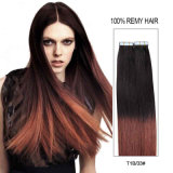 Wholesale Price Brazilian Double Sided Highlight Tape in Hair Extensions