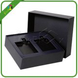 Black Matte Paper Empty Cardboard Gift Boxes with Insert