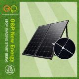 160W Portable Solar Panel Power Charge Energy 12V DC