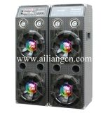 2.0 Professional Stage Speaker with Lights-USBFM777E