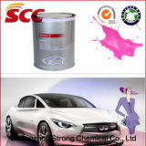 Superior Adhesion Rose Red Color 2k Acrylic Topcoat Car Paint