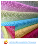 100% Polyester Organza Fabric, Woven Fabric for Garment