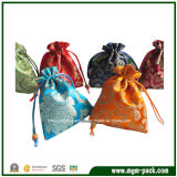 Classical Drawstring Packaging Satin Jewelry Gift Bag