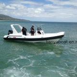 Liya 7.5m Fast Patrol Boats Motor Inflatable Military Rib Boats