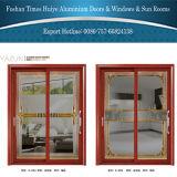 1.0mm~2.0mm Aluminum Hanging Door with Inlaid (Mosaic) Glasses