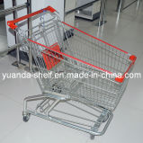 Wholesale Folding Mesh Shopping Cart for Supermarket
