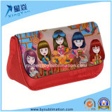 Sublimation Black Canvas Pencil Case