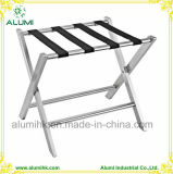 Silver Stainless Steel Luggage Racks for Hotel Room