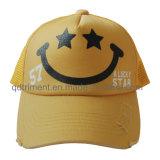 Promotion Screen Print Sponge Compound Front Mesh Trucker Hat (TMT0090A-1)
