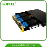 FTTH Fiber Optical MPO Distribution Box with Panel Box