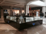 Metal and Wooden Jewelry Display Counter Showcases for Jewelry Store