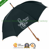 Wooden Inexpensive Personalized Monsoon Umbrellas for Premium (SU-0023W)