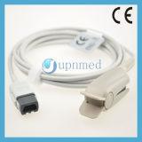 Ge Ohmeda Oxy-F4-Mc Adult Finger Clip SpO2 Sensor, 9pin, 3m