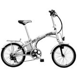 Urban Foldable E Bicycle with 200W Quiet Motor