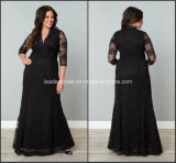 Black Lace Mother of Bride Dress Evening Dresses Z7053
