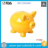 Lovely Animal Cute Piggy Ceramic Coin Bank