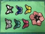 Butterfly Garment Accessories Sequins Patches Embroidery Patch Ym-016