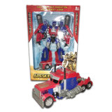 Education Light Music Gift Deformation Robot Model Car Toy