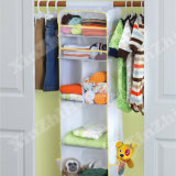 "50X12"" Closets Hanging Baby Clothes and Essentials Organizer Caddy"