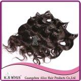 100% Premium Chinese Human Hair Clip in Hair Extension