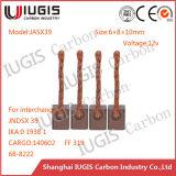 Jasx39 68-8222 Carbon Brush for Suzuki Kubota Starter Parts