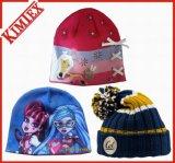 Unisex Fashion Wholesale Jacquard Acrylic Knitted Beanie Hat