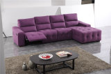 Colorful Office Fabric Sofa Chaise Longue