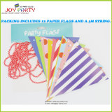 Paper Bunting and Banners with String for Decoration
