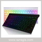 Colorful Backlit Universal Wireless Bluetooth PC Keyboard