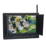 7 Inch Fpv Monitor with 5.8GHz Wireless AV Receiver