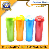 2016 New Gift Double Wall with Paper Advertising Cup (KAC-025)